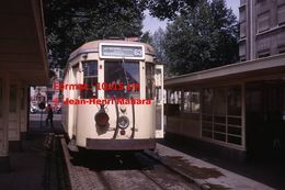 Reproduction D'unePhotographie D'un Tramway Ligne 63 Antwerpen Brasschaat à Anvers En Belgique En 1963 - Reproductions