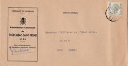 Enveloppe Administration Communale De Thorembais-Saint-Trond - 1970-1980 Elström