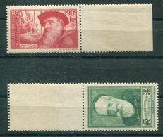 France - Yvert 343/344 Neuf** Sans Charn. - Unused Stamps