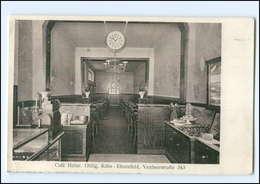 XX10929/ Köln Ehrenfeld  Cafe Heinr. Ohlig AK 1931 - Koeln