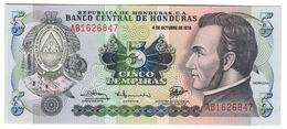 HONDURAS5LEMPIRAS04/10/1978P63UNC.CV. - Honduras