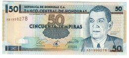 HONDURAS50LEMPIRAS03/09/1998P74UNC.CV. - Honduras