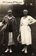 Melle Lenglen Mrs Mallory - Tennis