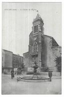 Sigean Le Clocher De L' Eglise - Sigean