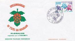 L4C446 France 1975 Obl Com. GF 10ème Fête Du Houblon Steenvoorde Nord 4-5 10 1975/ Env Ill YvT 1597 - Andere