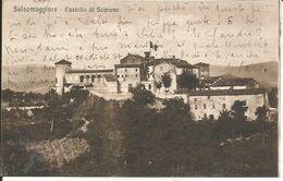 SALSOMAGGIORE - Castello Di Scipione - Formato Piccolo - Viaggiata 1931 - Parma