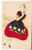 Costumes Régionaux Du Roussillon - Femme - Cartes D'art Gautier Frères - Feutrine - Autres Communes
