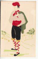 Costumes Régionaux Du Roussillon - Homme - Cartes D'art Gautier Frères - Feutrine - Autres Communes