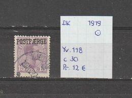 Denemarken 1919 - Yv. 118/Mi. PM 2 15ore Gest./obl./used - Gebruikt