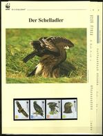 2007 Georgien WWF Schelladler 4 ** + 3 Blätter Beschreibung - Neufs