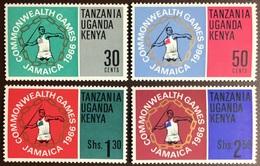 Kenya Uganda Tanzania 1966 Commonwealth Games MNH - Kenya, Oeganda & Tanzania