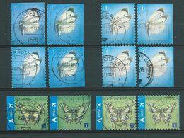 België OBP Nr:  4255 - 4256a - 1ste + 2de Uitgave - Gestempeld / Oblitéré - Vlinders - Used Stamps