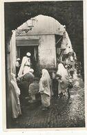 CPSM , Algérie ,N°230,  Alger - Casbah , Fontaine De La Rue N' Fissah , Ed. La Cigogne , 1950 - Algeri