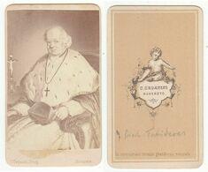 CDV Photo Foto: S. Segatini, Rovereto - GUTE RÜCKSEITE - Fürst-Bischof Johann Nep. Von Tschiderer - Old (before 1900)