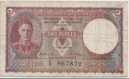 CEYLON P. 31 2 R 1941 VF - Sri Lanka