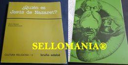 QUIEN ES JESUS DE NAZARET GENIS SAMPER Y ANTONIO DOMENECH BRUÑO TC23837 A5C1 - Libri, Riviste, Fumetti