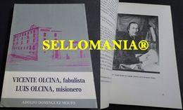 VICENTE OLCINA FABULISTA LUIS OLCINA MISIONERO DOMINGUEZ MOLTO 1984 TC23845 A5C1 - Libri, Riviste, Fumetti
