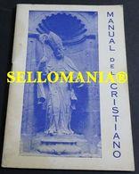 MANUAL DEL  CRISTIANO PARROQUIA SAN NICOLAS ALICANTE 1979 TC23847 A5C1 - Libri, Riviste, Fumetti