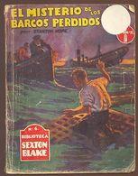 EL MISTERIO DE LOS BARCOS PERDIDOS AUTOR STANTON HOPE YEARS 1940    TC11309 A6C1 - Libri, Riviste, Fumetti