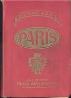 GUIA DE PARIS EDITOR FRANCO IBERO AMERICANA 1950 CON PLANOS A COLOR TC11977 A6C2 - Libri, Riviste, Fumetti