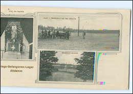 XX10986/ Kriegsgefangenenlager Altdamm Pommern AK 1915 - Pommern