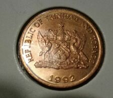 @Y@   Trinidad En Tabago   5 Cents  1992        (3490) - Trindad & Tobago
