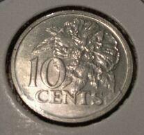 @Y@   Trinidad En Tabago   10 Cents  1975        (3495) - Trindad & Tobago