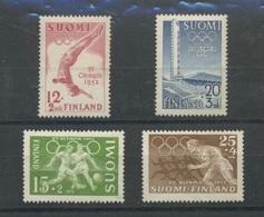 Olympiques De 1951 Et 1952 **  Cote 10 €, - Nuovi