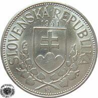 LaZooRo: Slovakia 20 Korun 1941 XF / UNC - Silver - Slovacchia