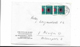 Brief Aus Warendorf 1963 - Brieven En Documenten