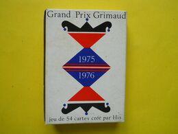 Jeu De 54 Cartes Grimaud ,grand Prix 1975/1976 ,crée Par L'artiste HIS - 54 Cartes