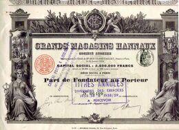 GRANDS MAGASINS HANNAUX - Non Classés
