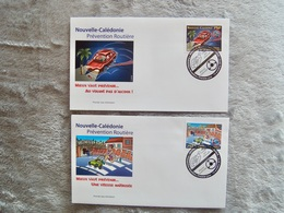 FDC : Prévention Routière Nouvelle-Caledonie - Covers & Documents