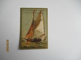 Barque De Peche Honfleur Au Musee De Cluny Chromo - Sonstige