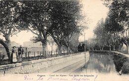 CPA Orgon - Canal Des Alpines - Voie Ferrée Des Batignolles - Autres Communes