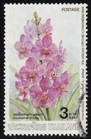 Thailand Stamp 1986 6th ASEAN Orchid Congress 3 Baht - Used - Tailandia