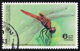 Thailand Stamp 1989 International Letter Writing Week 6 Baht - Used - Tailandia