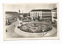 Kortrijk Stationsplein Statie Plaats Hotel Du Nord Old Cars - Kortrijk