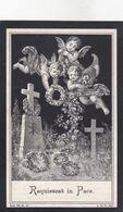 Z.DANNEEL °OOSTVLETEREN 1870  +POPERINGE 1908 (J.DELBOO) - Andachtsbilder