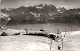 Käserstatt Ob Hasliberg - Bergstation Gondelbahn, Berghaus Und Skilift Hohbühl (41838) - BE Berne