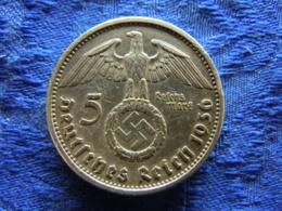 GERMANY 5 MARK 1936A, KM94 - [ 4] 1933-1945 : Third Reich