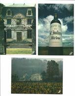 """Lot 13   CPM Prestige Du Bordelais """"Autour Du Vin De Bordeaux """"châteaux Et Caves Divers  Phorographes - Altri Fotografi"""