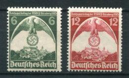 Deutsches Reich 586/7 ** - Unused Stamps