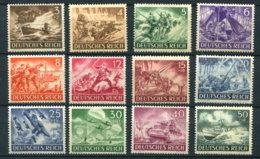 Deutsches Reich 831/42 ** - Unused Stamps
