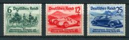 Deutsches Reich 686/8 * - Unused Stamps