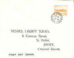 Jersey 6 Auf FDC - Besetzungen 1938-45
