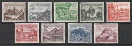 Deutsches Reich 730/8 * - Unused Stamps