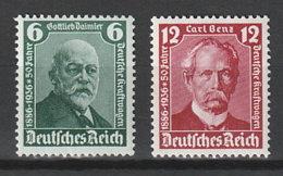 Deutsches Reich 604/5 ** - Unused Stamps
