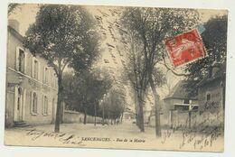 SANCERGUES - Rue De La Mairie - Sancergues
