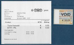 Automaatzegels Acon - TNT00100 - Testzegel - Otros